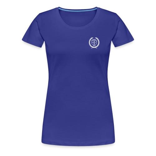 SIL_logo_hvit - Premium T-skjorte for kvinner