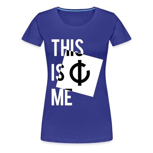 C'est moi + logo - T-shirt Premium Femme