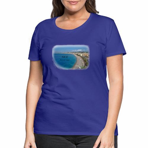 NiceBaieDesAnges vue du de la coline du chateau - T-shirt Premium Femme