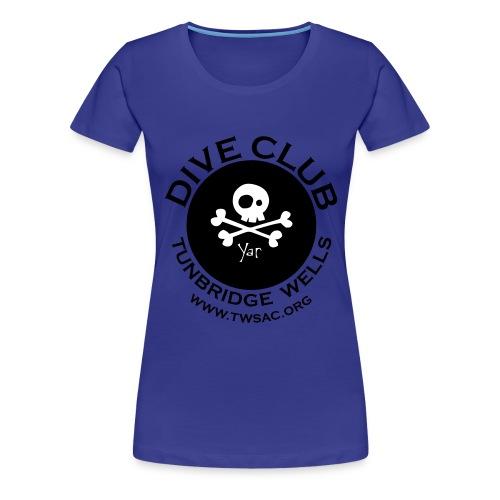 dive club - Women's Premium T-Shirt