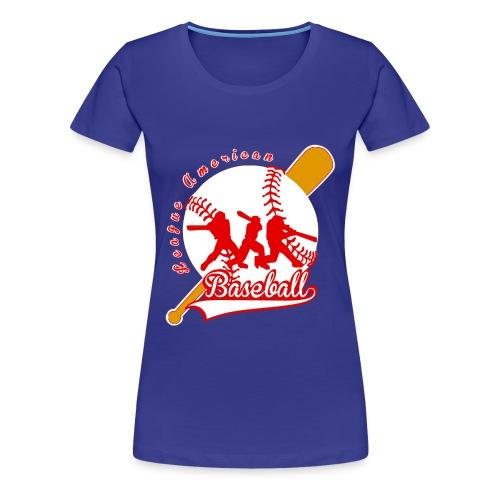 baseball league american - T-shirt Premium Femme
