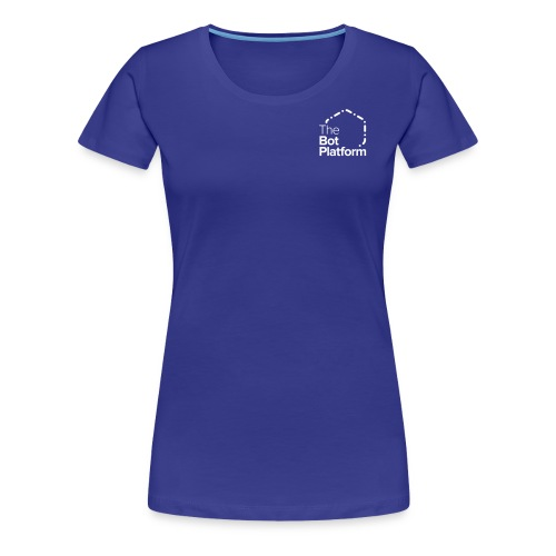 TBP logo white square - Women's Premium T-Shirt