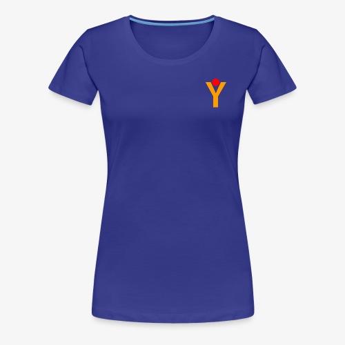 Logo new transparent png - Frauen Premium T-Shirt