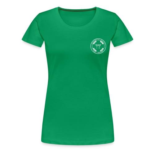 PSC Budo Emblem weiß png - Frauen Premium T-Shirt
