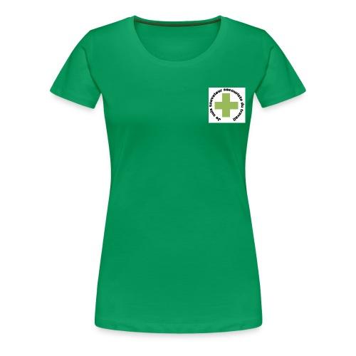 Logo secouriste - T-shirt Premium Femme
