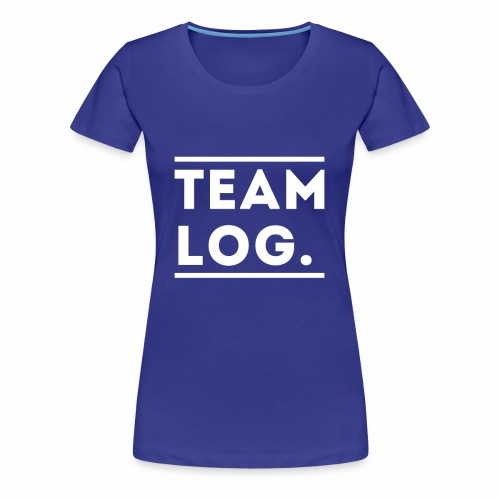 Team Log. - T-shirt Premium Femme
