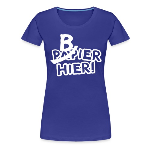 bbb_bierhier - Women's Premium T-Shirt