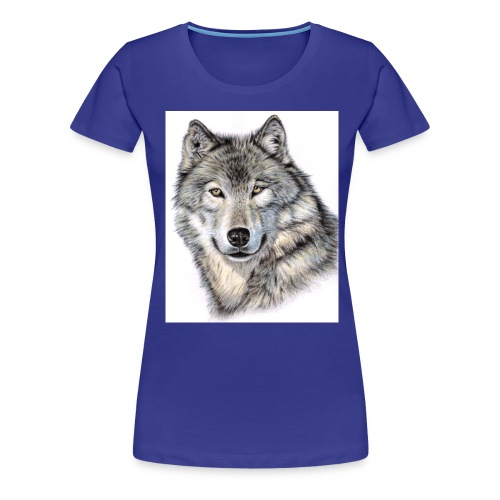 Der Wolf - Frauen Premium T-Shirt