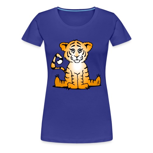 Tiger cub - Women's Premium T-Shirt