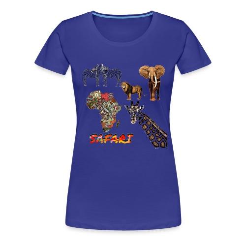 Safari africain - T-shirt Premium Femme