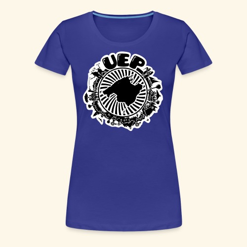 UEP white background - Women's Premium T-Shirt