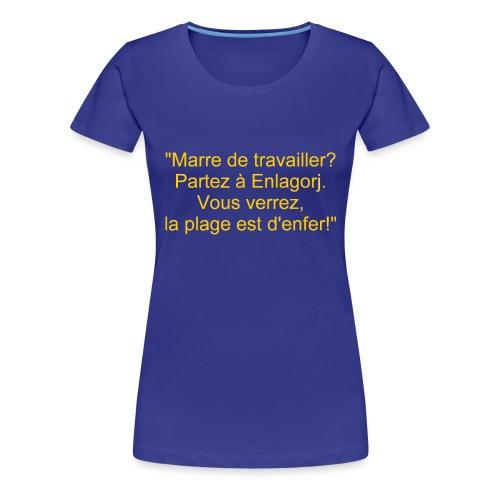 Sentinarum recto 1 - T-shirt Premium Femme