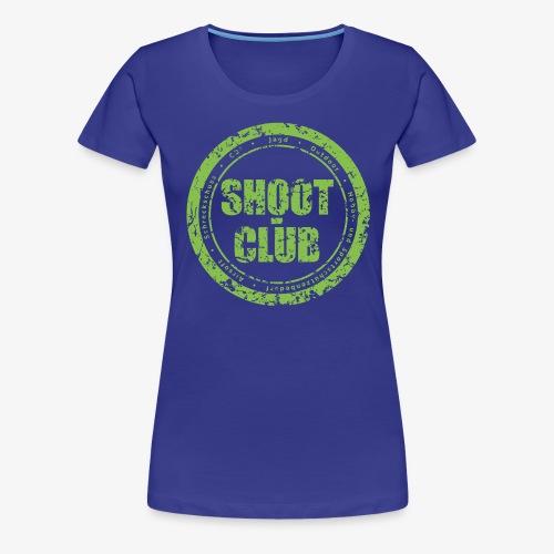 Shoot club Kreislogo neu - Frauen Premium T-Shirt