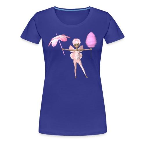 Zuckerwatten Fee - Frauen Premium T-Shirt