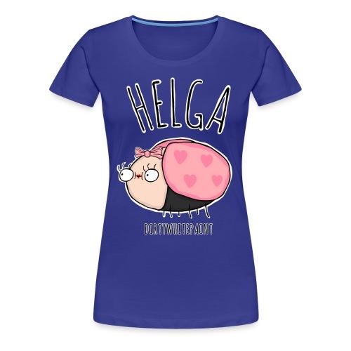 Helga png - Frauen Premium T-Shirt