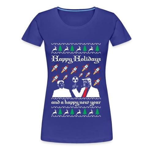 Strahlendes Neujahr - Frauen Premium T-Shirt