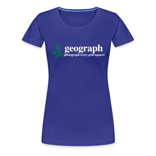 Geograph Britain&Ireland - Women's Premium T-Shirt