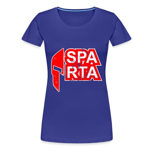 sparta new red - Frauen Premium T-Shirt
