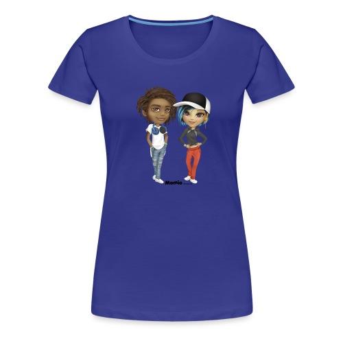 Maya i Noa - Koszulka damska Premium