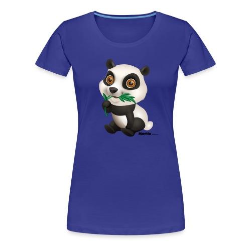 Panda - Premium T-skjorte for kvinner