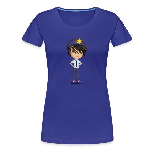 Momio police - Premium T-skjorte for kvinner