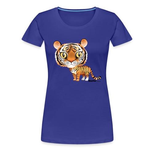 Tiger - Frauen Premium T-Shirt