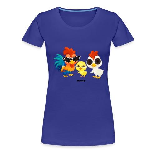 Kylling - av Momio Designer Emeraldo. - Premium T-skjorte for kvinner