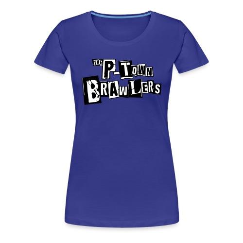 P-town Brawlers tekstilogo - Naisten premium t-paita