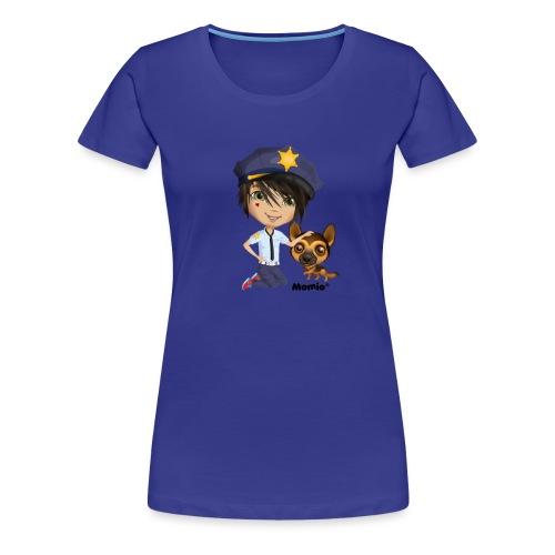 Jack and Dog - autorstwa Momio Designer Cat9999 - Koszulka damska Premium