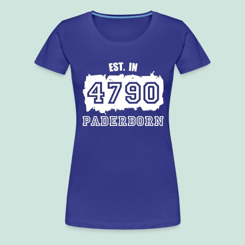 4790 Paderborn - Established - Frauen Premium T-Shirt