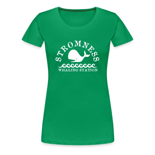 Sromness Whaling Station - Women's Premium T-Shirt
