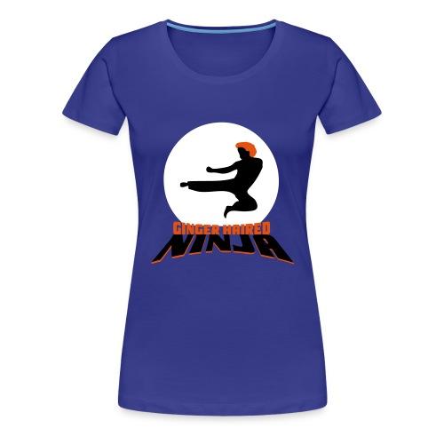 Ginger Haired Ninja - Women's Premium T-Shirt