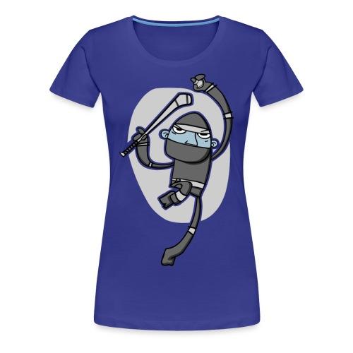 ninja - Women's Premium T-Shirt