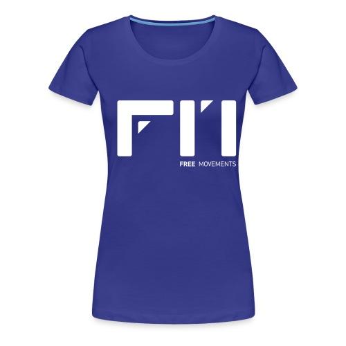 fm logo - Frauen Premium T-Shirt