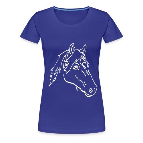Haflinger Chiaro - Frauen Premium T-Shirt