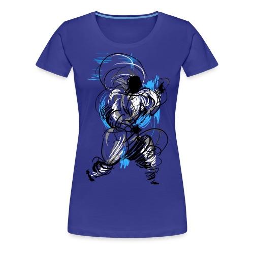 Kung Fu wizard - Women's Premium T-Shirt