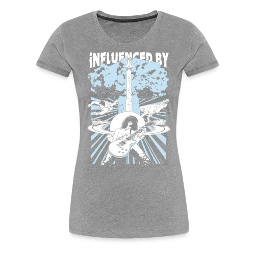 Influenced By - Dame premium T-shirt