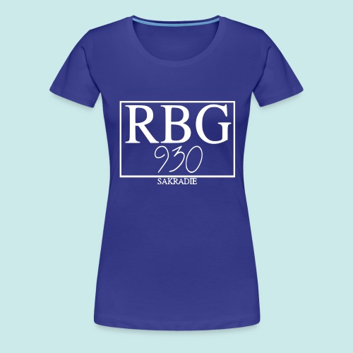 #RBG Buam - Frauen Premium T-Shirt