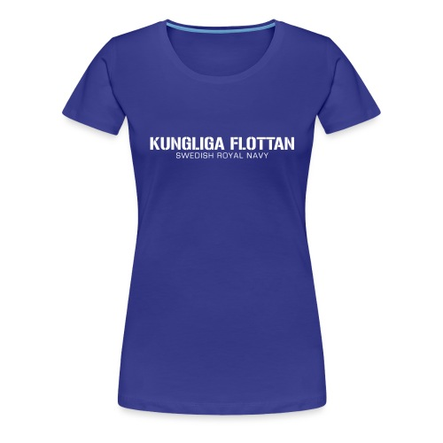Kungliga Flottan - Swedish Royal Navy - Premium-T-shirt dam