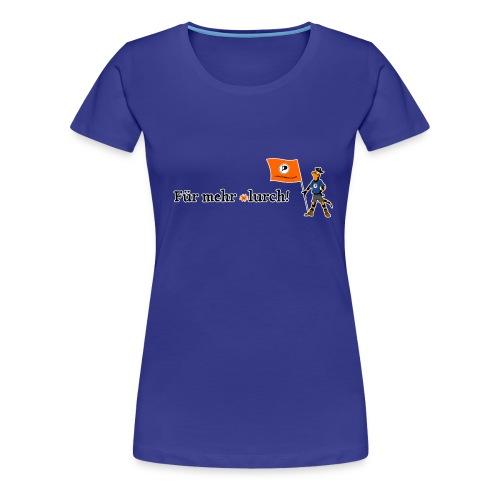 lurchifinalfinal - Frauen Premium T-Shirt
