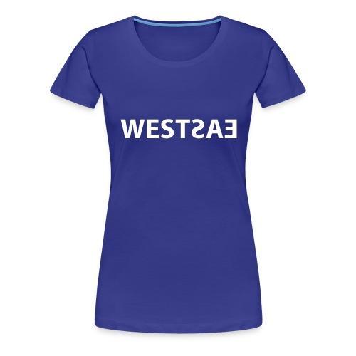 East meets West - Vrouwen Premium T-shirt