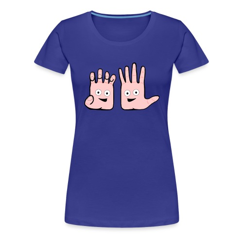 Winky Hands - Women's Premium T-Shirt