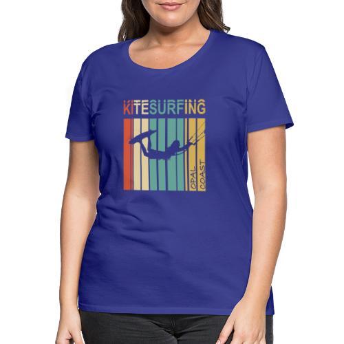 Kitesurfing Opal Coast II - T-shirt Premium Femme