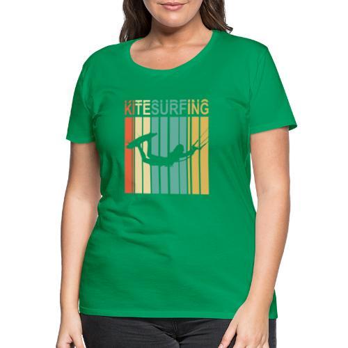 Kitesurfing - T-shirt Premium Femme