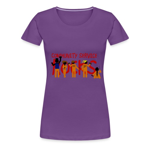 Misfits community service rocks - Camiseta premium mujer