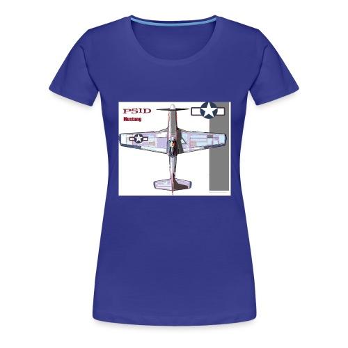 p 51d - Women's Premium T-Shirt