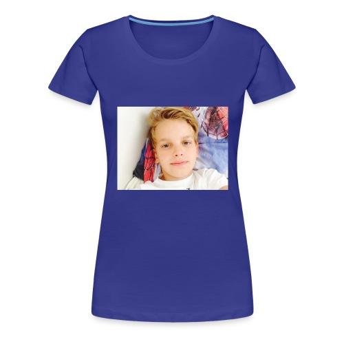 first design - Dame premium T-shirt