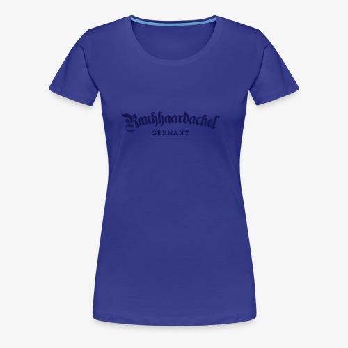 Rauhhaardackel Germany - Frauen Premium T-Shirt