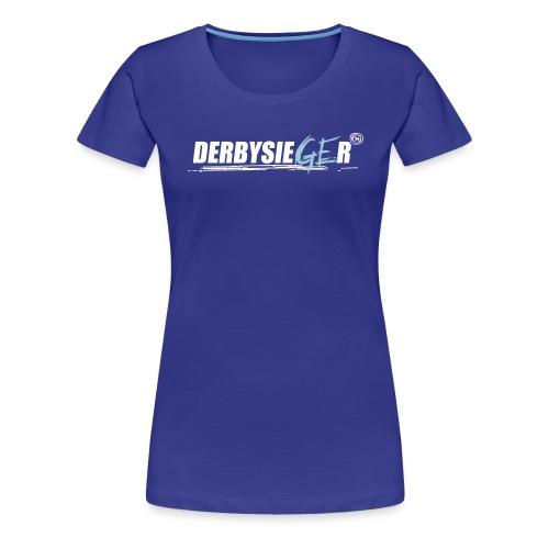 Derbysieger17_2farbig - Frauen Premium T-Shirt