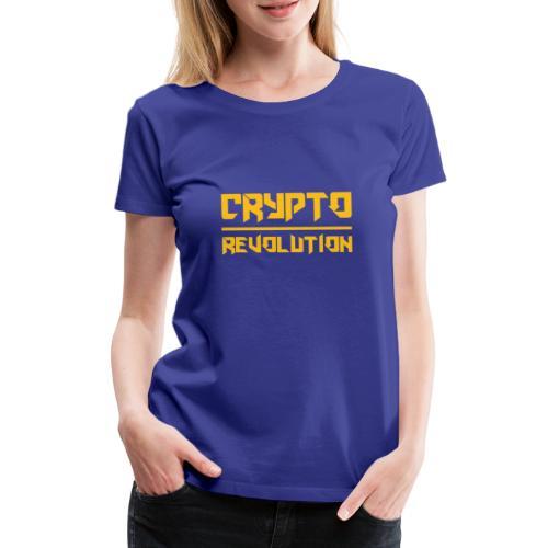 Crypto Revolution III - Women's Premium T-Shirt